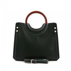 Γυναικεία Τσάντα Χειρός με Λουράκι Χρώματος Χακί Laura Ashley Ivy 651LAS0963