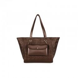 Γυναικεία Τσάντα Χειρός Χρώματος Copper Laura Ashley Relief 651LAS1724