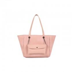 Γυναικεία Τσάντα Χειρός Χρώματος Ροζ Laura Ashley Relief Stick 651LAS1729