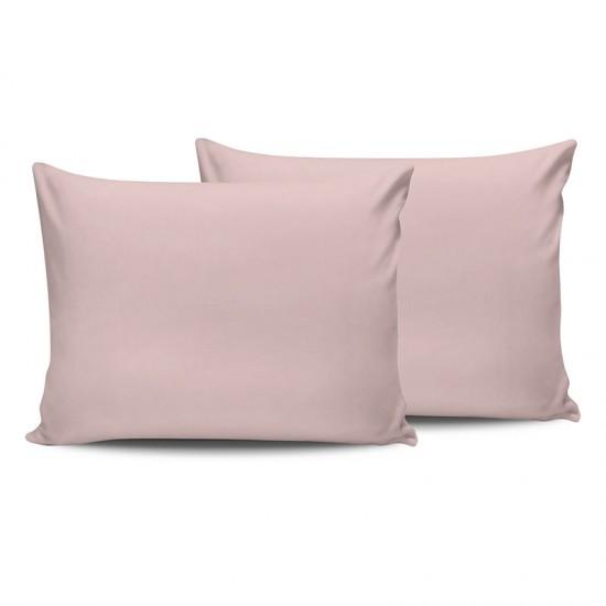 Σετ Μαξιλαροθήκες 50 x 70 cm 2 τμχ Χρώματος Ροζ Beverly Hills Polo Club 187BHP2107