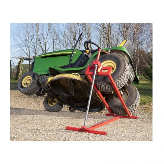 Πτυσσόμενο Ανυψωτικό για Μηχανήματα Κήπου 400 Kg 115 x 49.5 x 20 cm Idomya 20010052