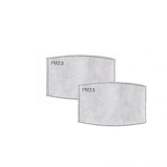 Σετ Ανταλλακτικά Φίλτρα PM 2.5 για Υφασμάτινες Μάσκες 2 τμχ SPM DB7704