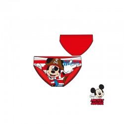 Βρεφικό Μαγιό Slip Χρώματος Κόκκινο Mickey Disney EP0202