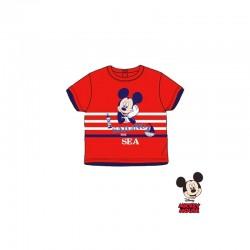 Βρεφικό T-shirt Χρώματος Κόκκινο Mickey Disney AQE0277