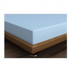 Διπλό Σεντόνι 240 x 260 cm Χρώματος Γαλάζιο Beverly Hills Polo Club 187BHP1203