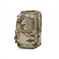 Ανδρικό Τσαντάκι Ζώνης Χρώματος Camouflage SPM DB5589