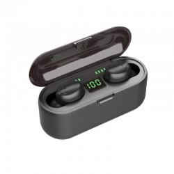 Ασύρματα Ακουστικά Bluetooth με Βάση Φόρτισης TWS SPM F9-5c