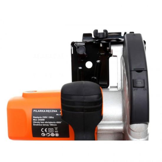 Κυκλικός Δίσκος Κοπής - Δισκοπρίονο Χειρός με Ένδειξη Laser 1850 W Kraft&Dele KD-1522