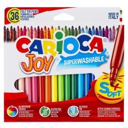 ΜΑΡΚΑΔΟΡΟΙ CARIOCA JOY 2.6mm ΣΕΤ=36ΧΡΩΜΑΤΑ  Carioca 40616