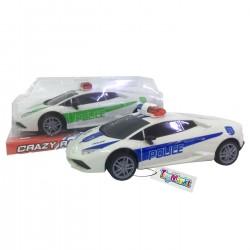 SPORTS CAR FRICTION POLICE 23cm ToyMarkt 902167