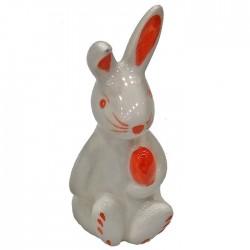 ΛΑΓΟΣ ΚΕΡΑΜΙΚΟΣ ΜΕ ΛΕΥΚΟ 10x5,5cm Bunny's 931704